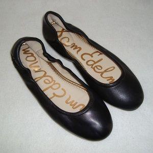 NWT SAM EDELMAN Leather 'Fritz' Ballet Flats